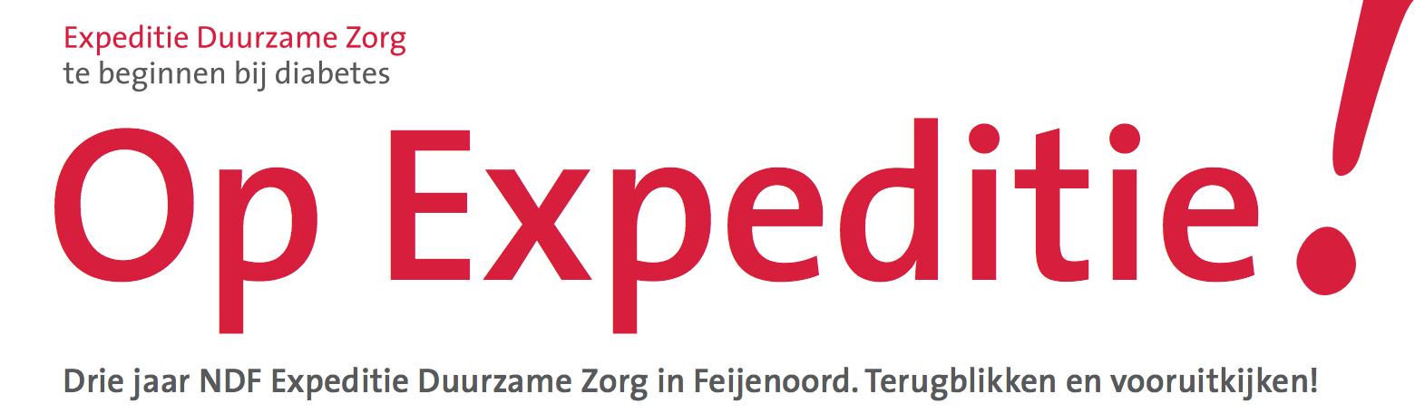 Speciaal Magazine 'Op Expeditie' voor Nederlandse Diabetes Federatie